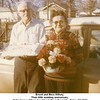Ernest and Bess Willsey.<br /> Their 60th wedding anniversary.<br /> At the home of their daughter Kathryn Reynolds, Tulsa, OK 1971