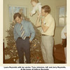 Laura Reynolds with her uncles, Tony Johnston, left, and Jerry Reynolds.<br /> At the home of Kathryn Reynolds.<br /> Tulsa, OK  Christmas, 1970