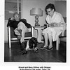 Ernest and Bess Willsey with Skipper.<br /> At the Ranch O'tel motel, Tulsa, OK<br /> Armorlee Willsey was the manager there.<br /> New Years' day, 1961