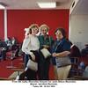 From left, Kathy (Reynolds) Howard, her aunts Eldora (Reynolds)<br /> Beaver, and Elsie Reynolds.<br /> Tulsa, OK  14 Oct 1991