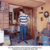 "From left, Christopher ""Chris"" Reynolds, and Martin Howard.<br /> At Martin's home, Verdigris, OK  Easter, 1989"
