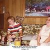"""Eugene N. """"Gene"""" Reynolds, Eva Lee Willsey.<br /> At the home of Martin and Kathy Howard.<br /> Verdigris, OK"""
