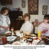 From left, Anita Howard, with her aunts Sue Johnston and Donna Reynolds.<br /> At the Howards, Verdigris, OK  Easter 1990