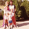 Sue and Tony Johnston with their kids, from left,<br /> Doug, Jeff, and Courtney.<br /> Verdigris, OK  7/18/1982