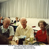 "From left, Jerry ""Jiggs"" Reynolds, his brother Reuben Ray,<br /> and their sister Eldora Larue Beaver.<br /> Savoy restaurant, Tulsa, OK 12 Oct 1991"