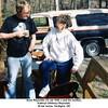 Gene Reynolds (12 Jul 1940 -) and his mother,<br /> Kathryn (Willsey) Reynolds.<br /> At her home, Verdigris, OK