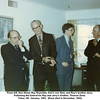 From left, Ken Wood, Ray Reynolds, Ken's son Stan, and Ray's brother Jerry.<br /> Following the funeral for Ray and Jerry's brother, Thomas Drew.<br /> Tulsa, OK  January, 1983,  (Drew died in December, 1982)