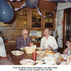 "From left, Martin Howard, Bill Higgins, and ""Bud"" Patton.<br /> At Martin's home, Verdigris, OK  9/16/1989"