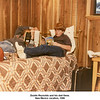 Dustin Reynolds and his dad Gene.<br /> New Mexico vacation, 1986