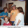 From left, Courtney Johnston, Kathy Howard, her daughter Anita and son Travis, and Donna Reynolds<br /> At Kathy's home, Verdigris, OK  9/16/1989