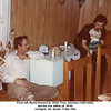 From left, Martin Howard (b. 1944), Tony Johnston (1944-2006),<br /> and his son Jeffrey (b. 1978).<br /> Verdigris, OK, Easter 11 Mar 1982