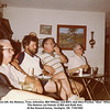 "From left, the Hintons, Tony Johnston, Bill Willsey, and Bill's dad Glen Preston ""Glen"" Willsey.<br /> The Hintons are friends of Bill and Ruth Ann.<br /> At the Howard home, Verdigris, OK  7/18/1982"