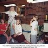 From left, Anita Howard, Valerie Reynolds, Courtney Johnston, Doug Johnston.<br /> At the Howard home, Verdigris, OK  Easter, 1989