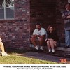 From left, Travis Howard, his dad, Martin, Laura Reynolds, and her mom, Paula.<br /> At the Howard home, Verdigris, OK  9/16/1989