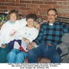 """Kathryn """"Kathy"""" (Reynolds) Howard, left, her brother Jerry Reynolds,<br /> right, and their mom Kathryn (Willsey) Reynolds.  At Kathy's<br /> home, Verdigris, OK  Christmas, 1993"""