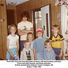 From left, Vicki and Chris Reynolds (in back), Jeff and Courtney Johnston,<br /> Travis and Anita Howard, and Doug Johnston.<br /> At their grandmother Kathryn's home, Verdigris, OK<br /> Easter, 11 Mar 1982