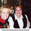 From left, Sue (Reynolds) Johnston and her sister-in-law Donna (Todd) Reynolds.<br /> At the home of Sue's mother Kathryn Reynolds, Verdigris, OK  Christmas, 2000