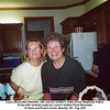 Laura (Reynolds) Arbetello, left, and her mother's sister-in-law Stephanie Patton.<br /> At the 60th birthday party for Laura's mother Paula Reynolds.<br /> At Gene and Paula's home, Newalla, OK  Aug 2003