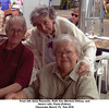 From left, Gene Reynolds, Ruth Ann (Morton) Willsey, and<br /> Gene's wife, Paula (Patton).<br /> Clearwater Beach, FL  Feb 2016
