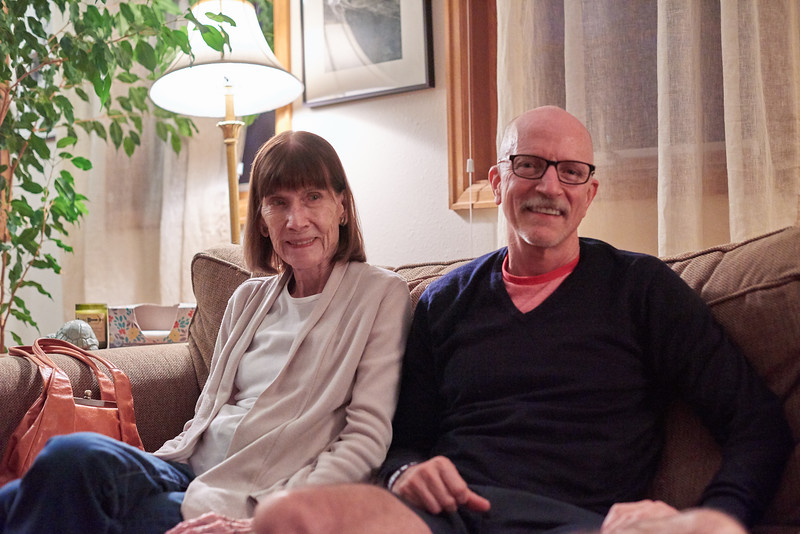 Mom and Tim