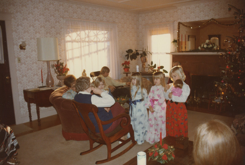 Christmas 1975 at 5 Mechanic Street 2