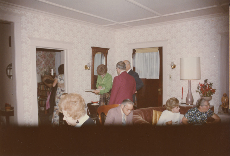 Christmas 1975 at 5 Mechanic Street 1