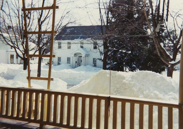 Winter of 1993 at 5 Mechanic Street 6