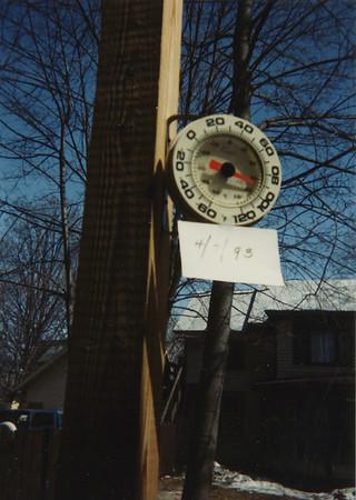 Winter of 1993 at 5 Mechanic Street 10