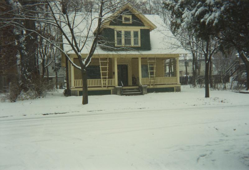 Winter of 1993 at 5 Mechanic Street 2