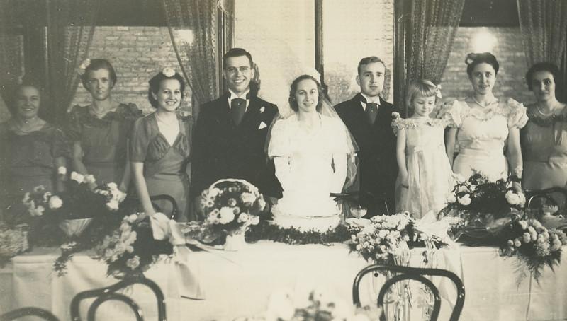 Frank and Bessie Wilcox Wedding 1