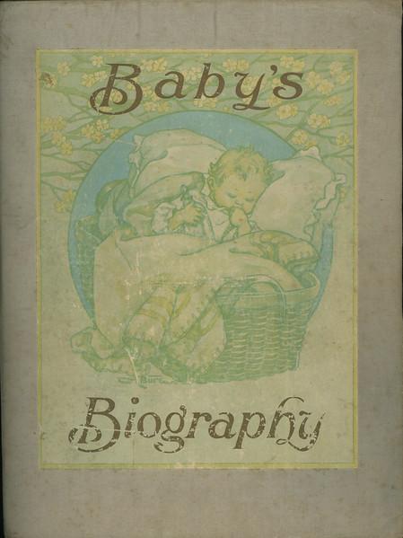 Bessie Wilcox Baby Book