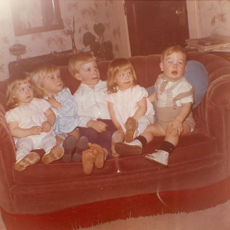 Bessie Wilcox with Grandkids 7