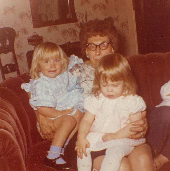 Bessie Wilcox with Grandkids 1