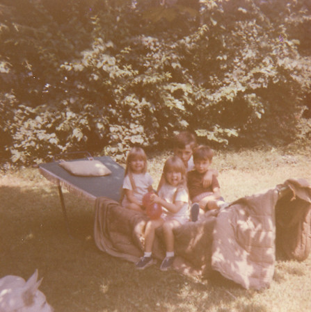 Bessie Wilcox with Grandkids 6