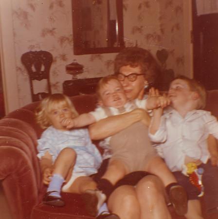 Bessie Wilcox with Grandkids 2