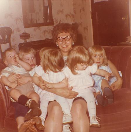 Bessie Wilcox with Grandkids 4