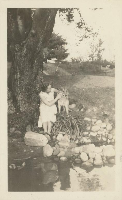 Bessie at Sunnyside Lake