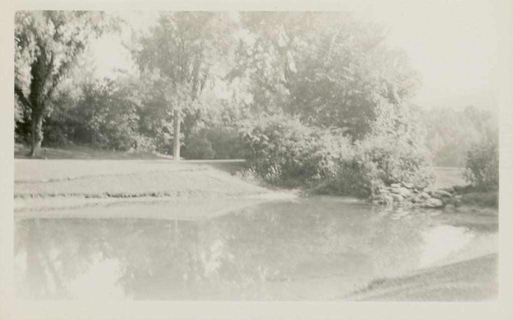 Bessie Wilcox by Sunyside Lake 1