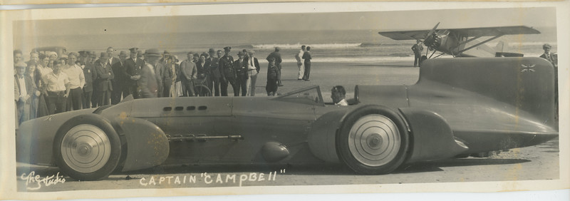 Captain Campbell and his Bluebird 1