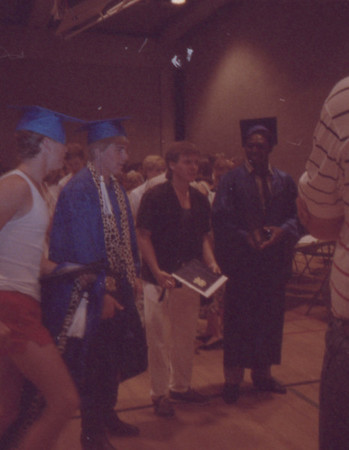 Chris Wilcox High School Graduation 3