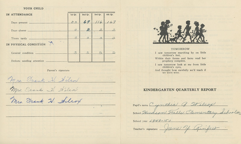 Cynthia Ellinger 1950 1st Grade 4