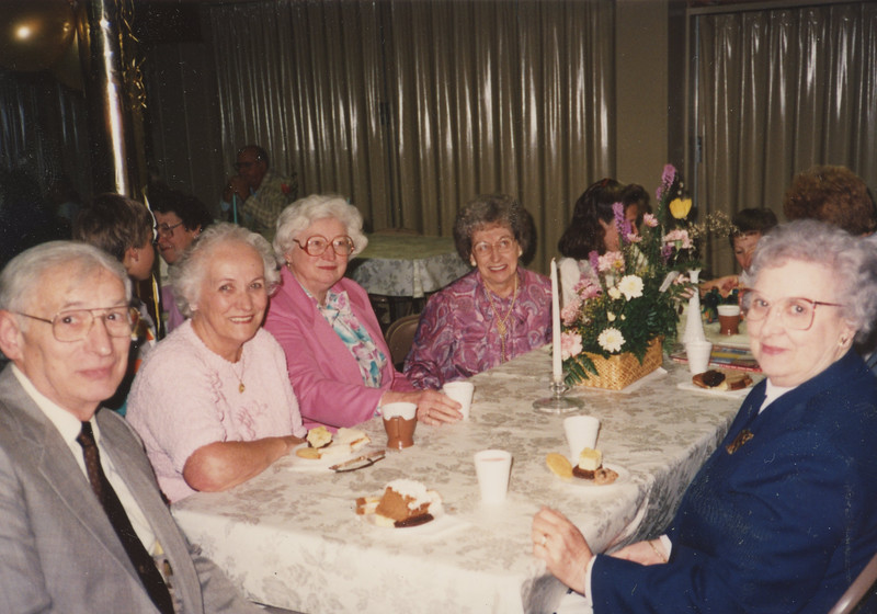 Family Dinner with Frank and Bessie Wilcox 2