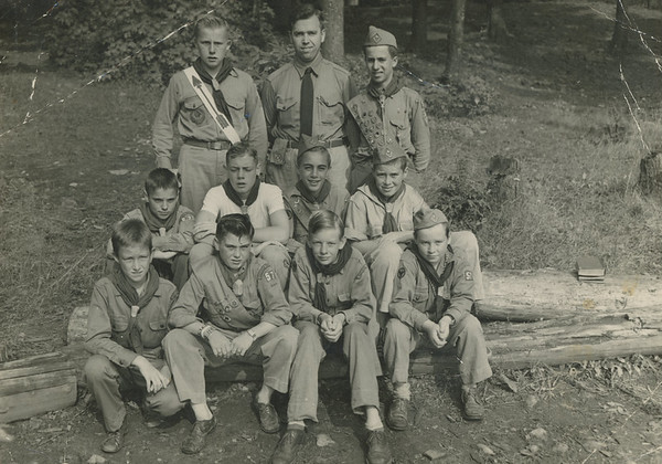 Frank Wilcox and Boy Scouts 3
