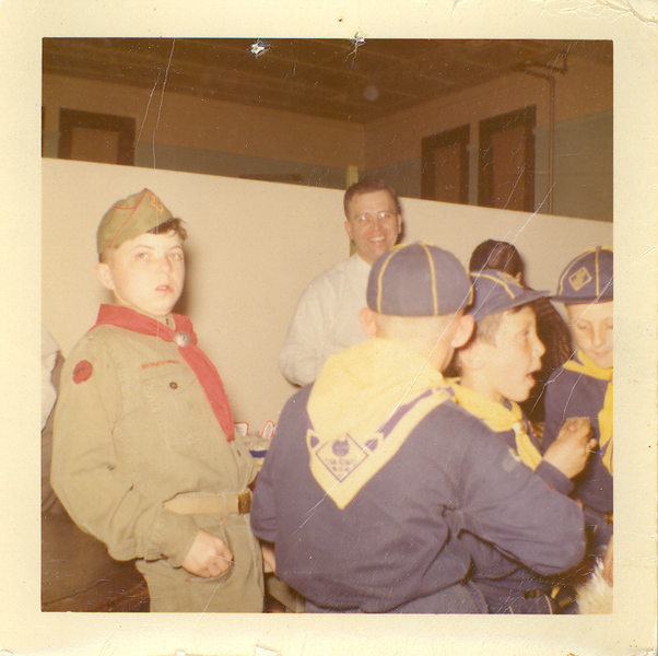 Frank Wilcox and Boy Scouts 4