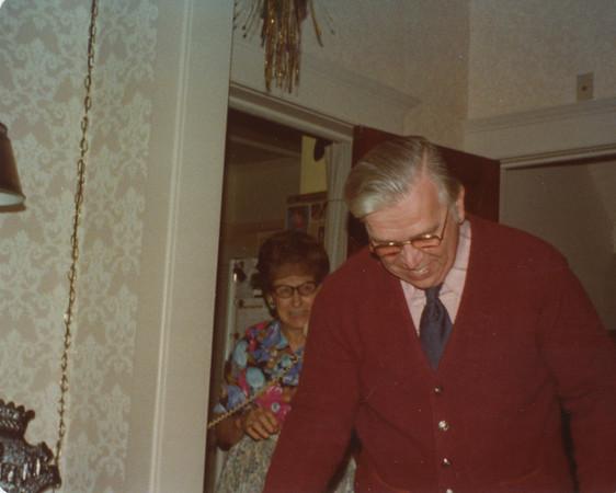 Frank Wilcox Christmas 1976