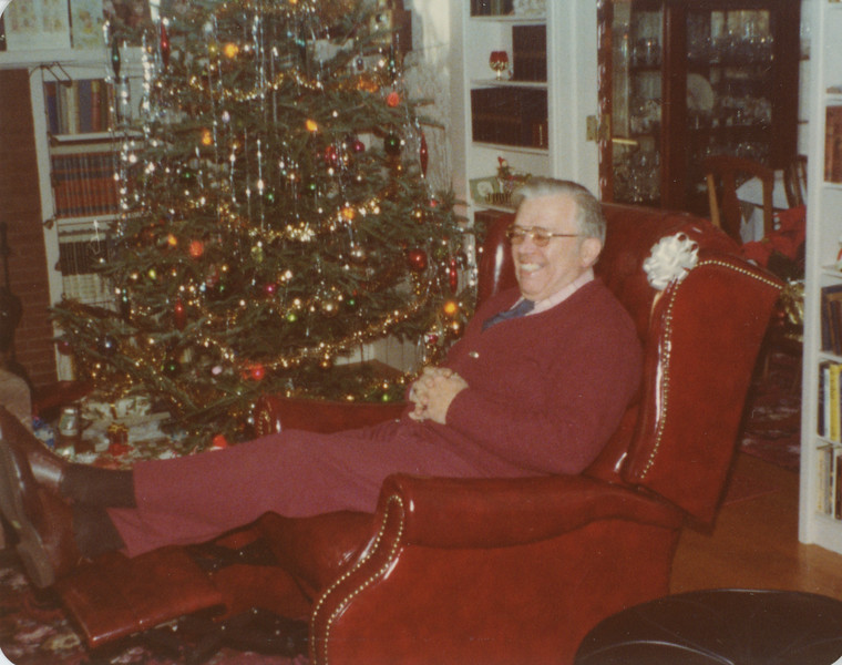 Christmas 1976 at 5 Mechanic 5
