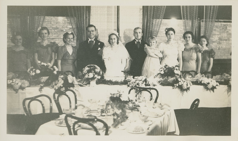 Frank and Bessie Wilcox Wedding 8