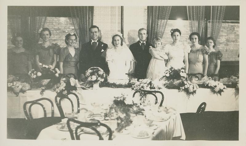 Frank and Bessie Wilcox Wedding 8