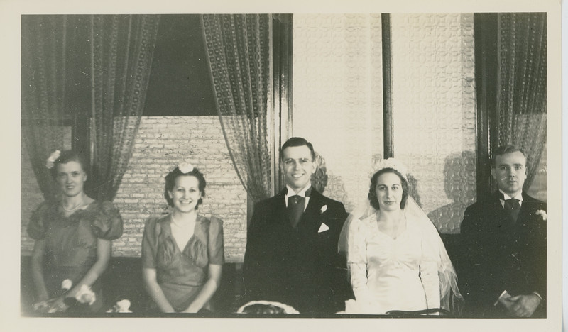 Frank and Bessie Wilcox Wedding 6