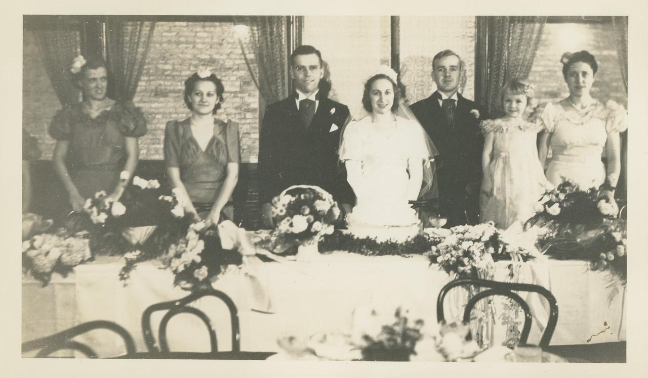 Frank and Bessie Wilcox Wedding 11